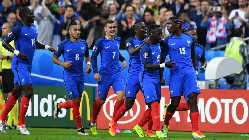 Euro  Francia Islanda   Bleus Travolgenti Deschamps In Semifinale
