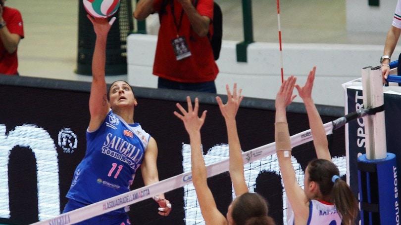 Volley: A2 Femminile, Giusy Astarita firma per Caserta