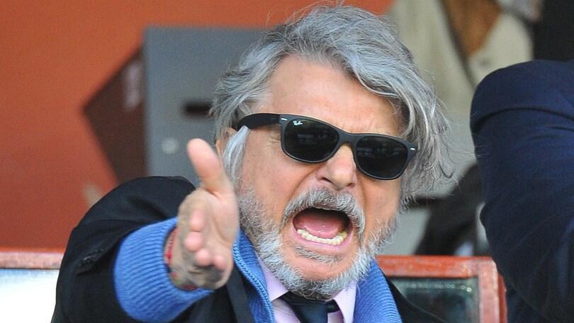 Sampdoria, Ferrero: «Castan e Paredes possibili. Soriano prenda la sua strada»