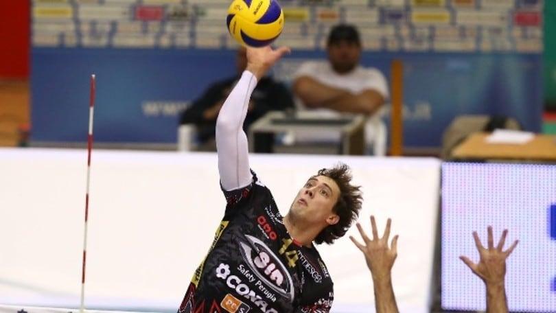 Volley: Superlega, Perugia chiarisce sull'entità dell'infortunio di Atanasijevic