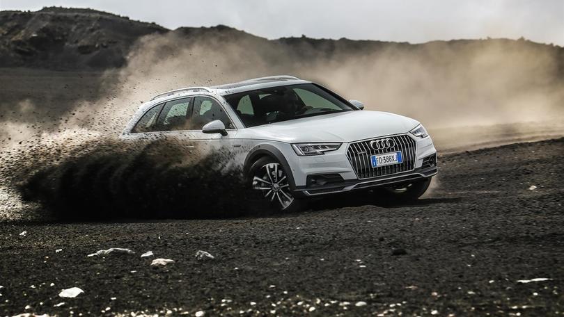 Audi A4 Allroad alla conquista dell'Etna