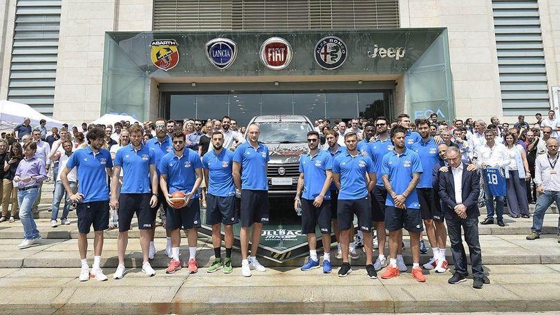 """Fiat augura """"in bocca al lupo"""" agli Azzurri del basket"""