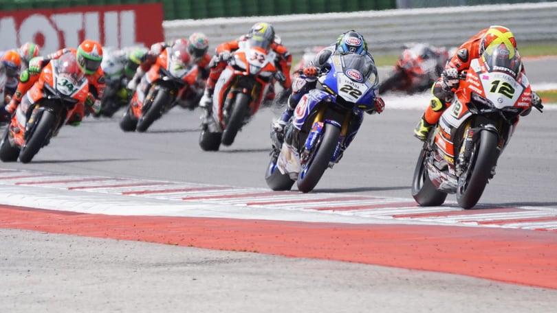 SBK team Pedercini, De Angelis: «Buon feeling con la moto»
