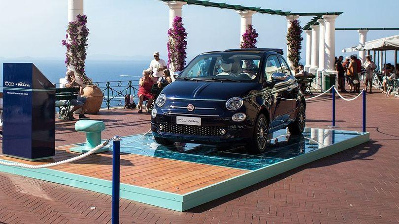 Fiat 500, il 59esimo compleanno è a Capri