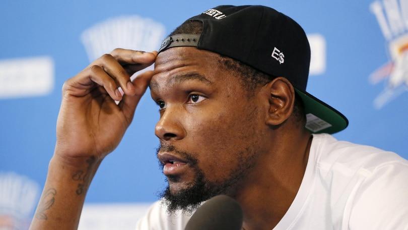 Basket NBA, Durant si presenta: «Ho sceltoi Golden State Warriors perché voglio vincere»