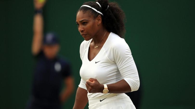 Wimbledon, trionfo a un passo per Serena Williams