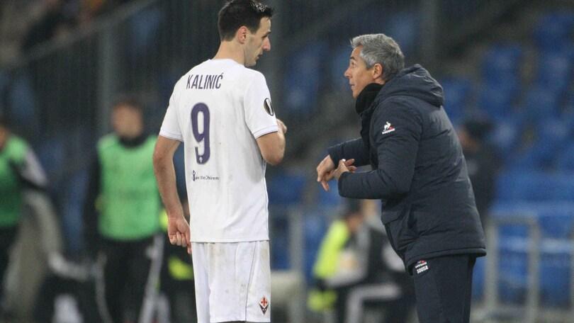 Calciomercato Fiorentina, Sousa: «Kalinic? Mi fido di Corvino, i migliori restano»