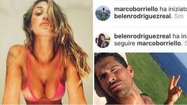 "Fuori dal campo, Belen e Borriello: quel ""follow"" clandestino"