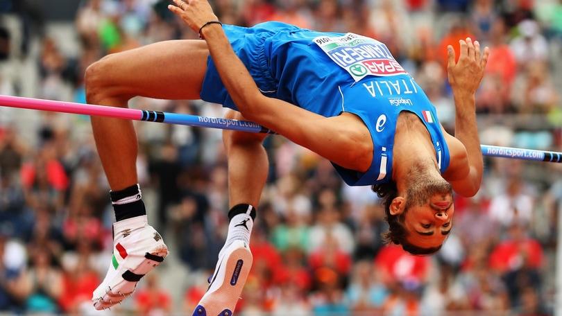 Gianmarco Tamberi, campione d'Europa in salto in alto