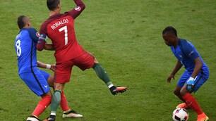Francia, Payet: «Non volevo far male a Ronaldo»