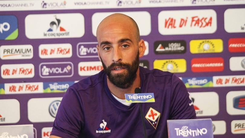 Calciomercato, Borja Valero «Il Milan? Sto bene alla Fiorentina»
