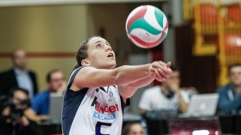 Volley: Nazionale Femminile, per Ilaria Spirito infortunio al menisco