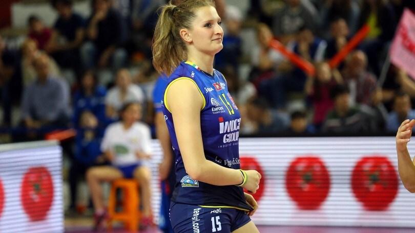 Volley: A1 Femminile, a Monza arriva Anna Nicoletti