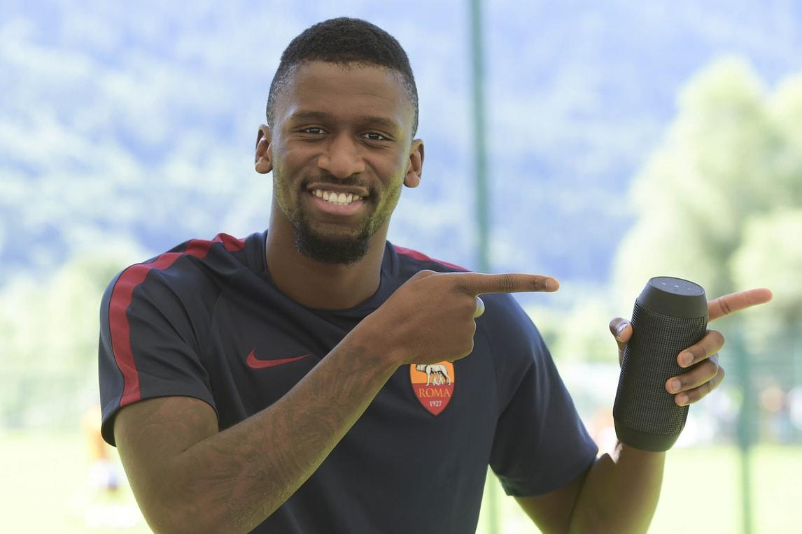 Roma, i 22 per l'Europa League: c'è Ruediger