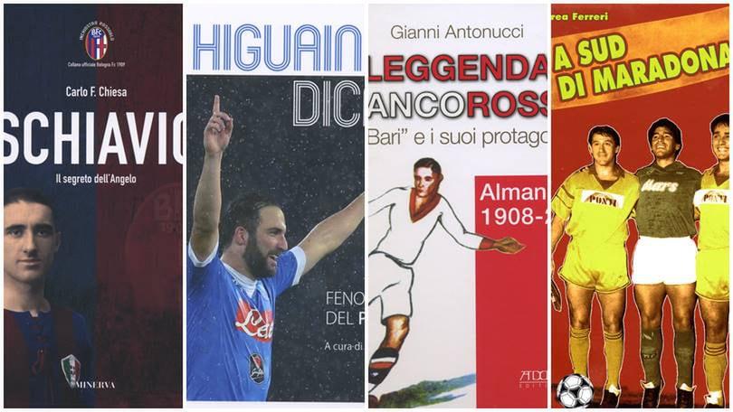Le storie di due grandi bomber e due libri su Bari e Lecce