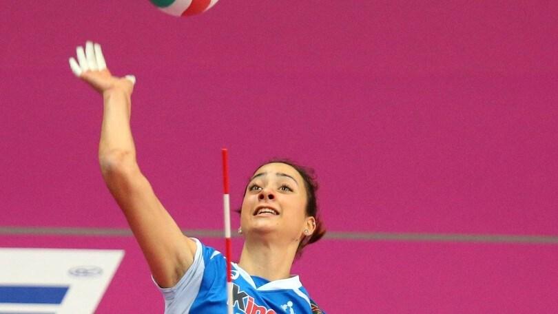 Volley: A2 Femminile, Elisa Zanette giovane bomber per Palmi