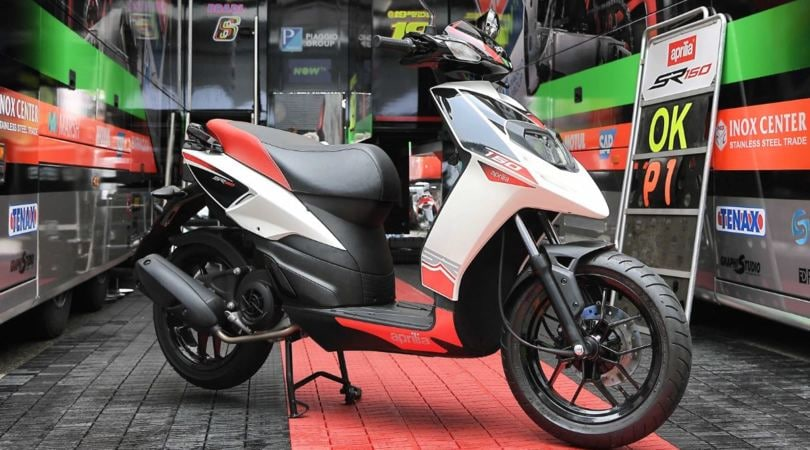 Gli scooter Aprilia alla conquista dell'India