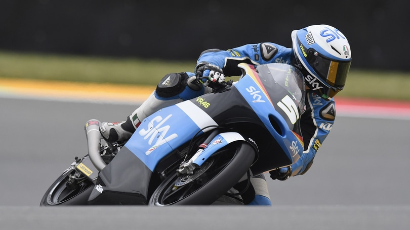 Moto3, Sachsenring: weekend in salita per Sky Racing Team VR46