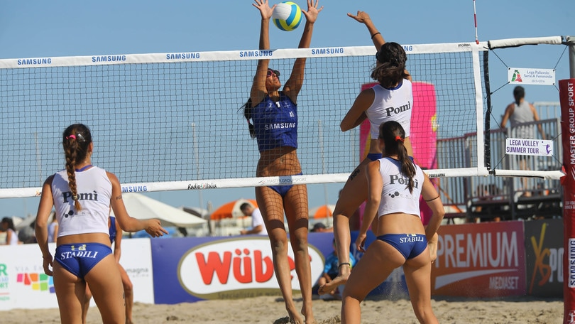 Beach Volley: Lega Volley Summer Tour,  finale Casalmaggiore-Bergamo