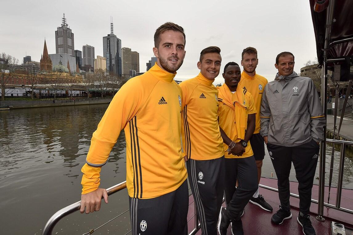 La Juventus visita Melbourne