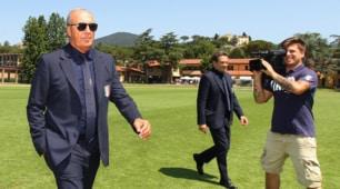 Italia, Ventura arriva a Coverciano
