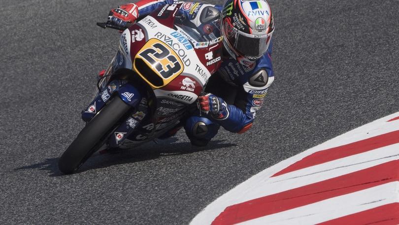 Moto3, intervento riuscito per Antonelli
