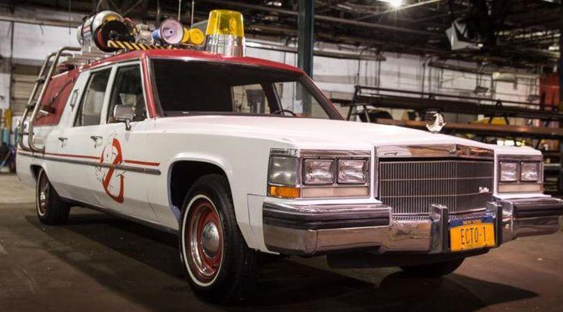 Ghostbusters, la nuova Ecto1 in anteprima: video