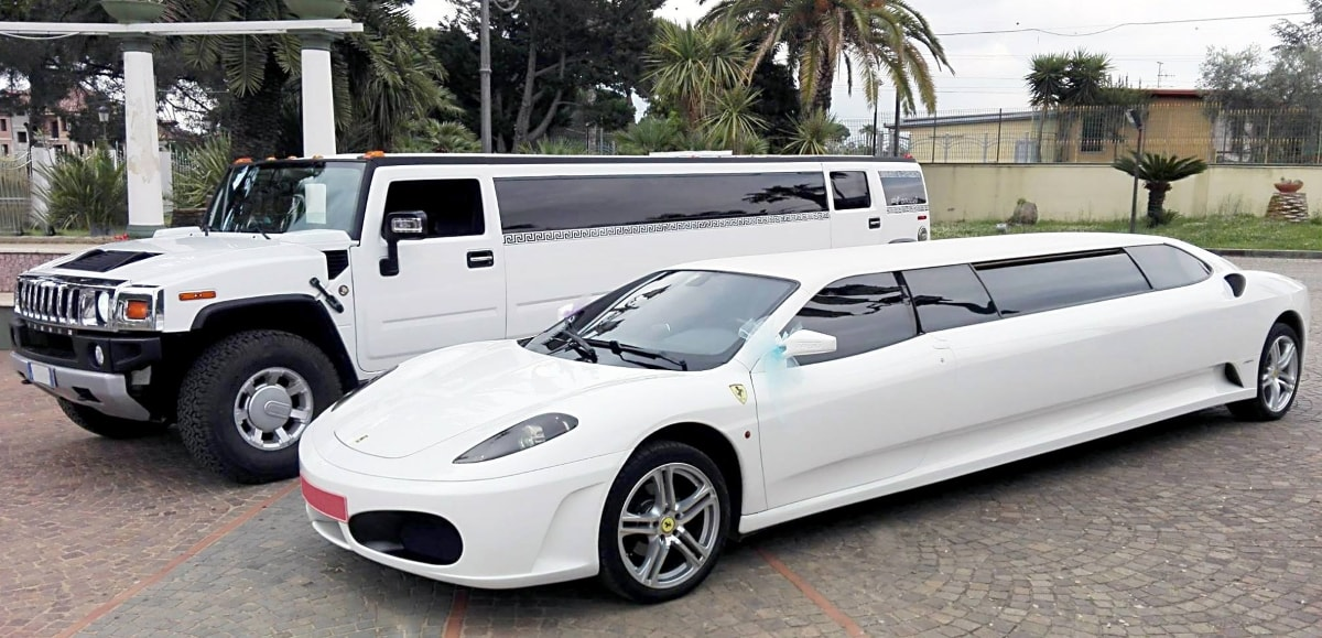 """Ferrari F430 limousine """"taroccata"""": foto"""