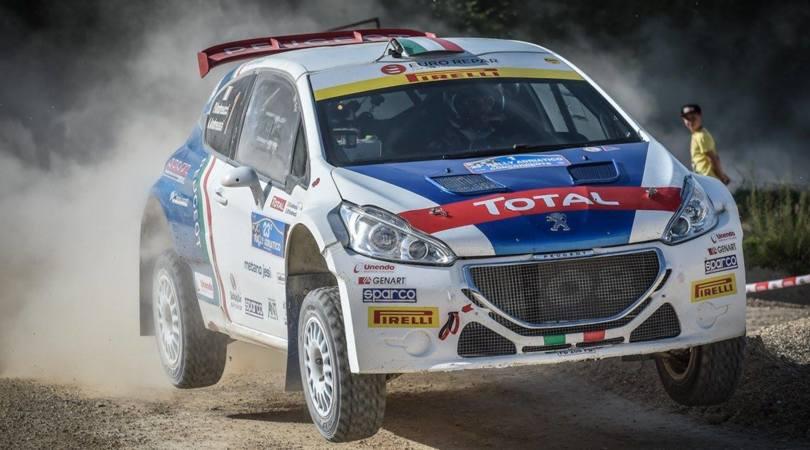 Andreucci, come guida un campione di rally: video