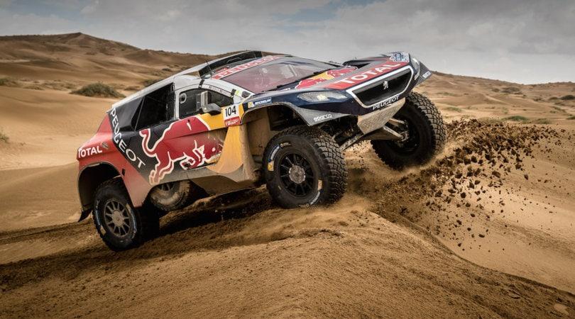 Despres Re Leone su Peugeot al Silk Way Rally