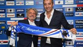 Serie A Sampdoria, Ferrero: «Giampaolo resta: è roba mia»
