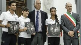Olimpiadi, Frongia e Malagò incontrano gli atleti romani in partenza per le Olimpiadi
