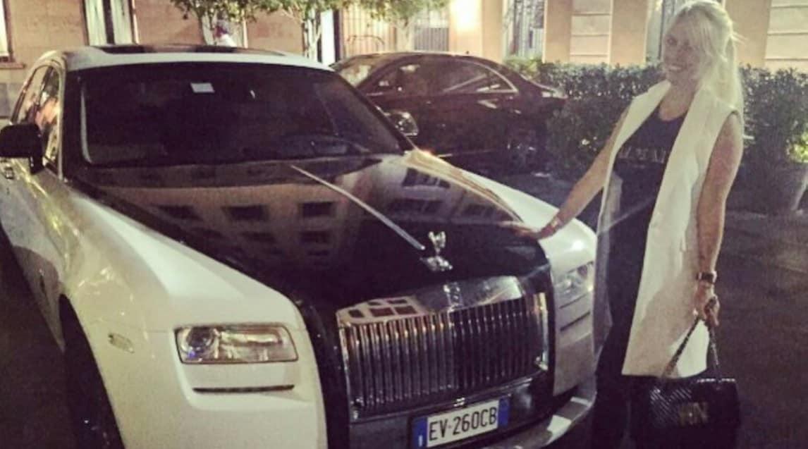 Le auto del garage di Mauro Icardi e Wanda Nara