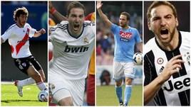 Higuain story, dalla maglia del River Plate a quella della Juventus