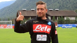 Napoli, Giaccherini: ecco il primo allenamento in maglia azzurra!
