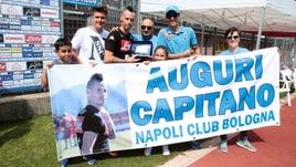 """Serie A Napoli, """"Tanti auguri Hamsik"""". A Dimaro è grande festa per il capitano"""