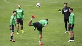 Serie A, Sassuolo: quante magie con il pallone in allenamento