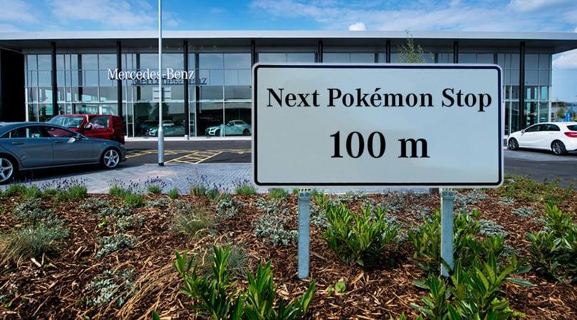 I concessionari auto usano Pokemon Go come esca