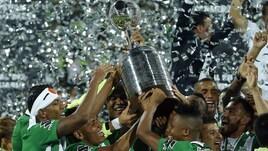 Libertadores, festa Atletico Nacional dopo 27 anni