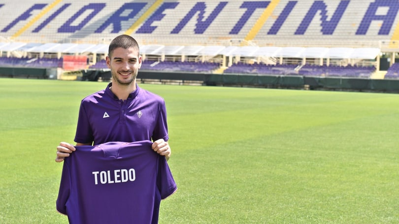 Calciomercato Fiorentina, ecco Toledo: presentazione al Franchi