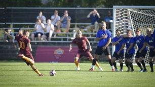 Roma, nel 3-0 alla Global Premier brilla El Shaarawy