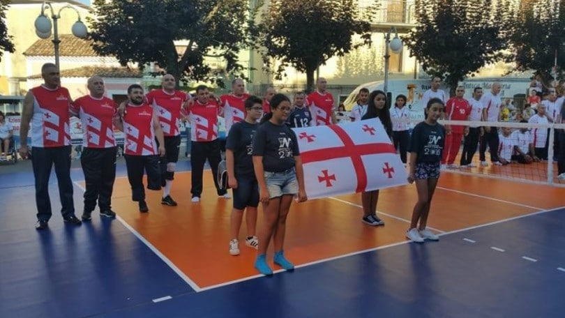 Sitting Volley: Nella Nerulum Cup l'Italia battuta dalla Georgia