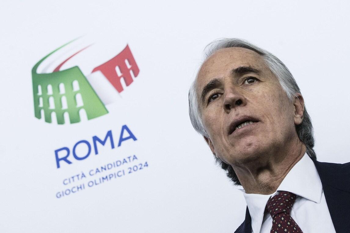 Roma 2024, Malagò: «Con la Raggi parlerò dopo le Paralimpiadi»