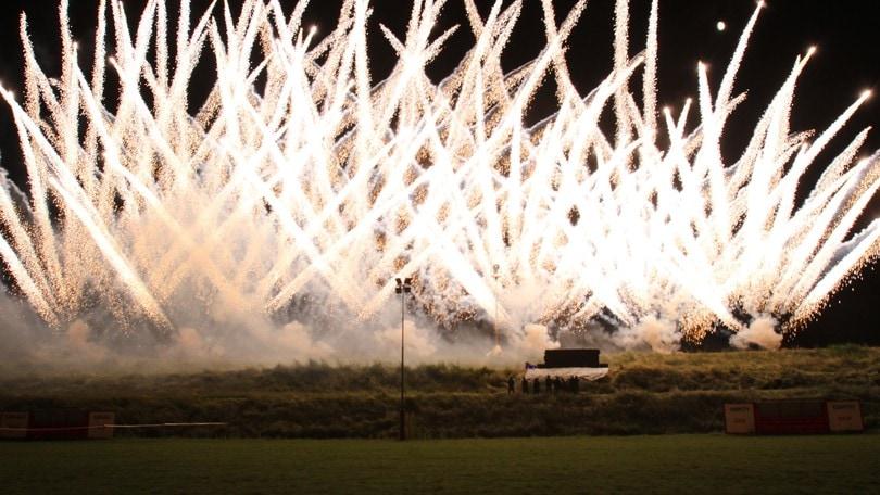 Magic Fire Festival, a Rainbow il top dei fuochi d'artificio