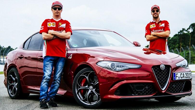 Alfa Giulia Quadrifoglio protagonista al GP di Germania
