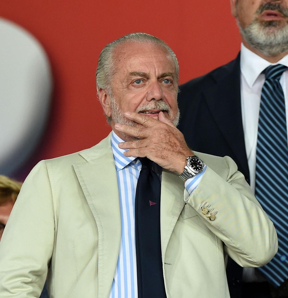 Serie A Napoli, De Laurentiis: «Vorrei stadio da 20mila posti, con 5mila biglietti gratis»