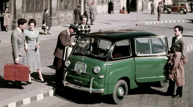 Le in-dimenticabili - FIAT 600 Multipla