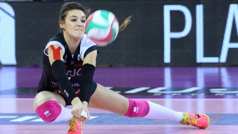 Volley: A2 Femminile, Pesaro chiude il roster con Nicole Gamba