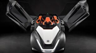 """Nissan BladeGlider, l'elettrica """"aliante"""" per le Olimpiadi: foto"""