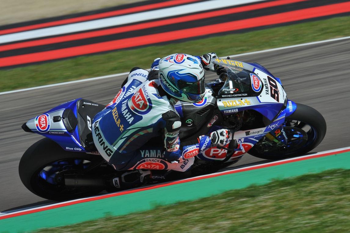 SBK Pata Yamaha, Guintoli: «È stata una gara difficile»